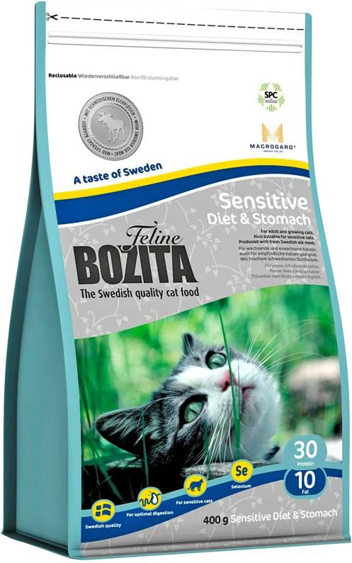 Сухой корм для кошек Bozita Feline Funktion Sensitive Diet & Stomach