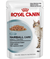 Влажный корм Royal Canin Hairball Care в соусе 85 гр.*12 фото